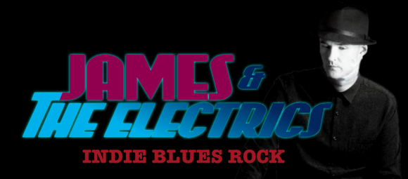 James & The Electrics - Indie Blues Blues Rock Rock Live Act in London