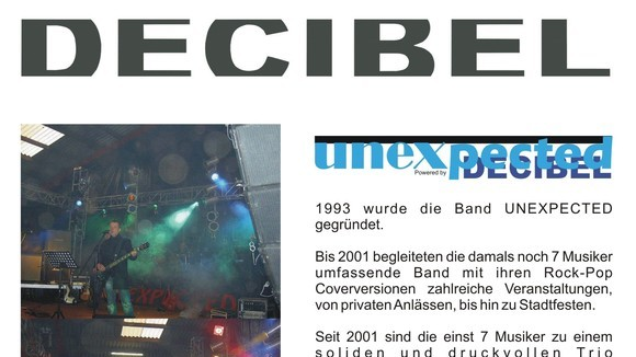 Un-X-pected live - Classicrock Live Act in Diepenau