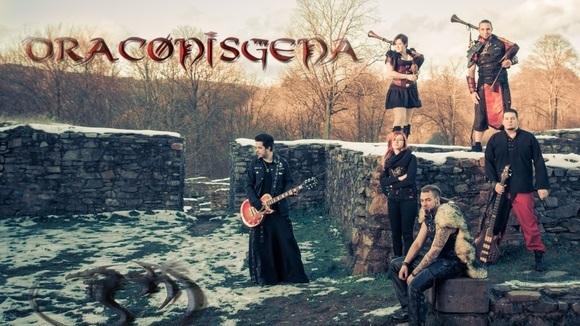 DRACONISGENA - Folk Rock Hard Rock Metal Mittelalter Live Act in Hermeskeil
