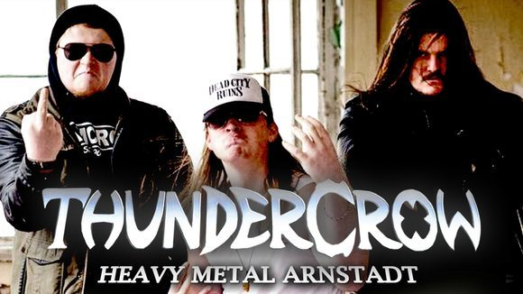 Thundercrow - Rock and Roll Hard Rock Blues Rock Heavy Metal Live Act in Arnstadt