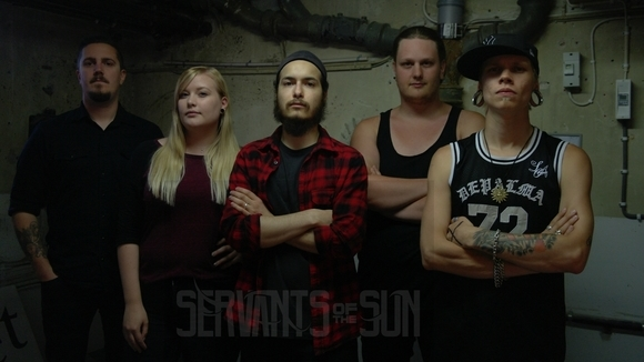 Servants of the Sun - Metal Metalcore Metal Progressive Metal Melodic Metal Live Act in Stockholm