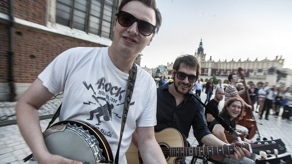 Krakow Street Band - Blues Folk Gospel Jazz Bluegrass Live Act in Cracow