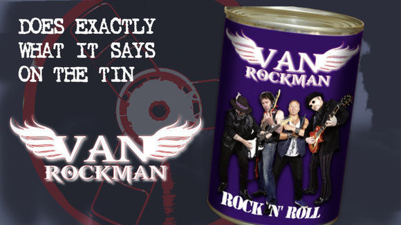 Van Rockman - Rock and Roll Rock Live Act in London