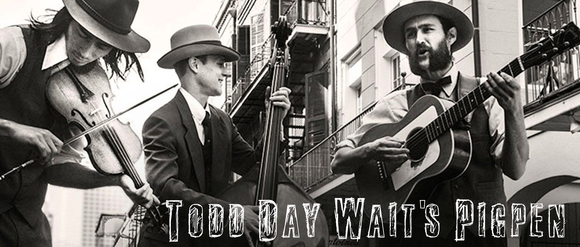 Todd Day Wait - Hillbilly Alternative Country Alt-Country folk-blues Country Live Act in New Orleans