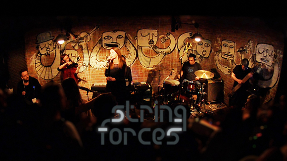 String Forces - Experimental Pop ethno-fusion Rock Electro Industrial Live Act in Skopje