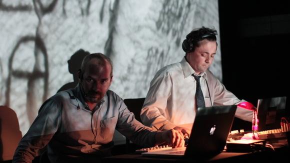 Basheskia & Edward EQ - Electro-Experimental Electro Melodic Spoken Word Live Act in Sarajevo