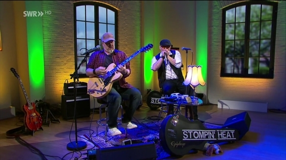 STOMPIN' HEAT - blues, boogie and other stuff - Blues Rhythm & Blues (R&B) Funk Boogie folk-blues Live Act in Neunkirchen
