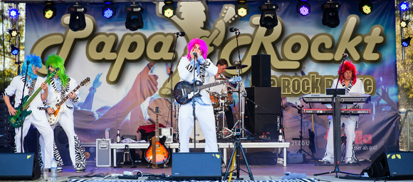 Papa Rockt - Glam Rock Rock Cover Classics Party Live Act in Seevetal