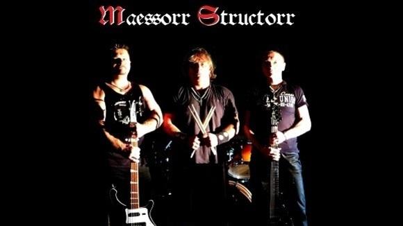 Maessorr Structorr - Metal Heavy Rock Hard Rock Heavy Metal Rock Live Act in Chemnitz