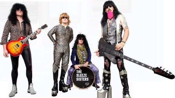 The Sleeze Sisters - Glam Rock Live Act in bedlington
