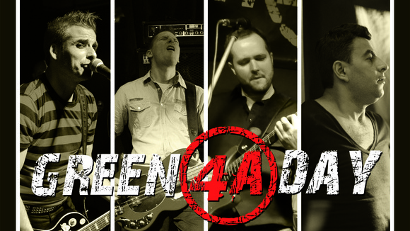 GREEN 4A DAY - Tribute Punk Rock Cover Garage Rock Live Act in Bremen