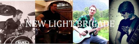 New Light Brigade - Folk Rock Rock Melodic Garage Rock Live Act in Kingston Upon Hull