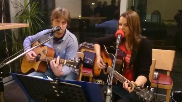Natalie Hauch und Bernd Diehl - Acoustic Blues Rock Pop Cover DeutschPop Live Act in Birkenfeld