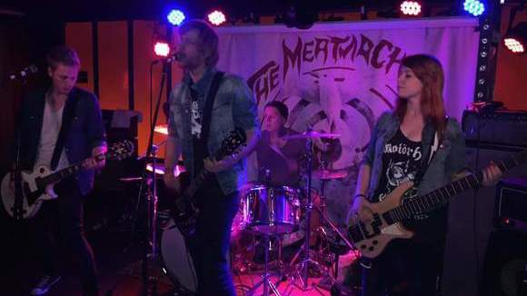The MeatMachines - Garage Rock Grunge Hard Rock Punk Rock Live Act in hamburg