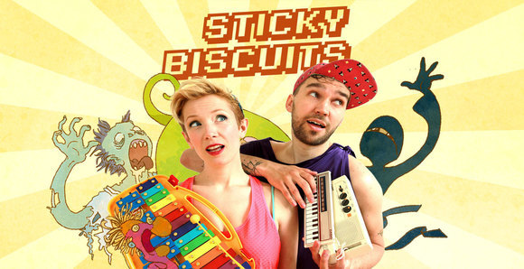 STICKY BISCUITS - Folktronica Indiepop Comedy Live Act in Berlin