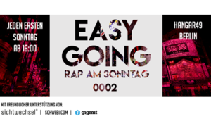 Easy Going - Rap am Sonntag