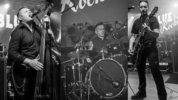 BLUE ROCKIN' - Rock and Roll Psychobilly Punkrock Garage Rock Live Act in BERLIN