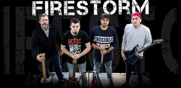 Firestorm - Hard Rock Blues Rock Heavy Metal Thrash Metal Live Act in Frankfurt