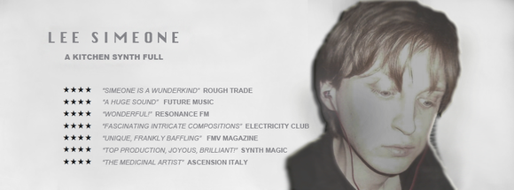 SIMEONE - Experimental Pop Singer/Songwriter Rock Electro Electropop Live Act in London