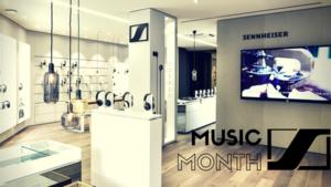 Sennheiser MUSIC MONTH - 1st GIG