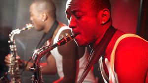 Jazz at Mister B's.