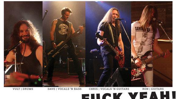 R.A.T.S. - Rock Heavy Metal Punk Live Act in Stuttgart