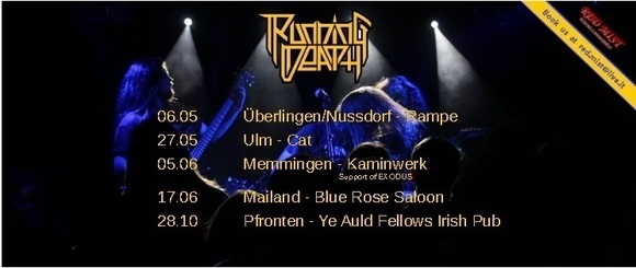 Running Death - Metal Melodic Thrash Metal Live Act in Kaufbeuren