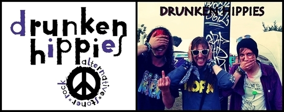 DRUNKEN HIPPIES - Alternative Stoner Rock Live Act in Berlin