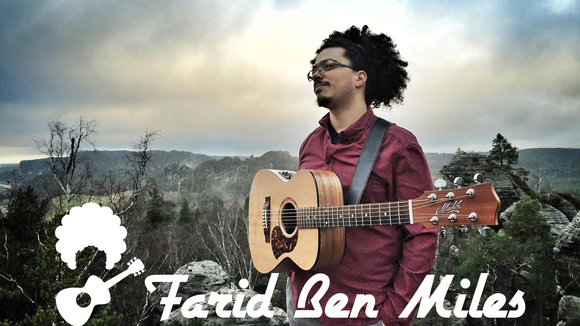 Farid Ben Miles - Cinematic Progressive Folk Acoustic Worldmusic Live Act in Paris / Dresden
