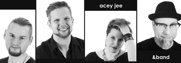 Acey Jee - Acoustic Rock Singer/Songwriter Pop Cover Melodic Live Act in Berlin