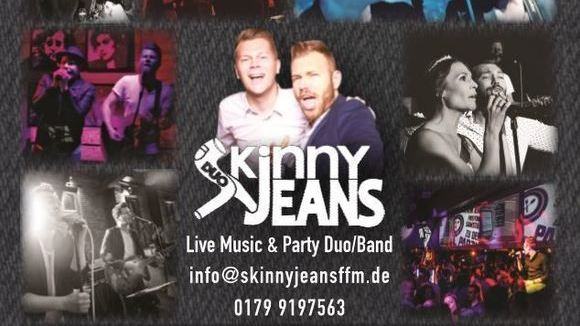 SKINNY JEANS - Cover Dance Pop Acoustic Pop Rock Live Act in Frankfurt