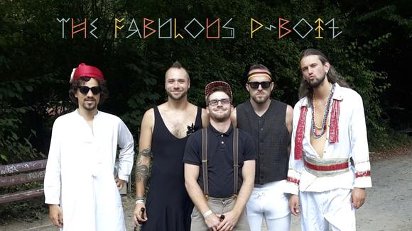 THE FABULOUS P-BOIZ - Worldmusic Rock Psychedelic Cinematic Afro Live Act in Berlin