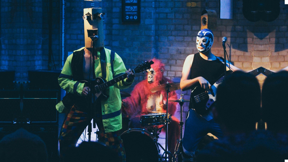 GorillaBot - Quirky Funk Rock Electro Garage Rock Live Act in Birmingham