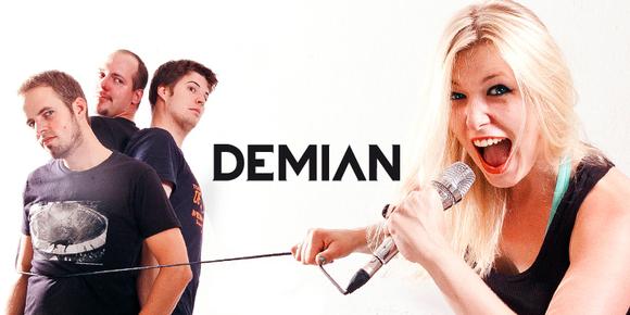 Demian - Rock Hard Rock Alternative Rock Indie Live Act in Baden