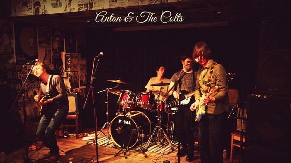 Anton & The Colts - Americana Americana Blues Rock Rock Alt-Country Live Act in Glasgow