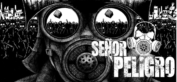 Señor Peligro - Groove Metal Punk Garage Rock Live Act in Mexico City