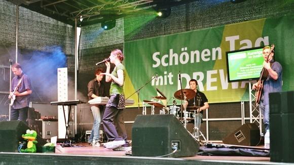 Judy und das Krokodil - Pop Rock Live Act in Dresden