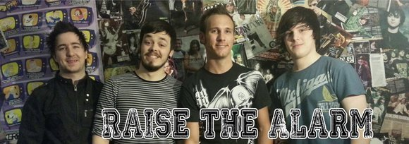 Raise The Alarm - Rock Pop Live Act in Cwmbran