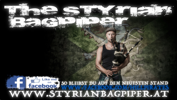 The Styrian Bagpiper - Solo Folk Rock Dubstep Rock Scottish Live Act in Kapfenberg