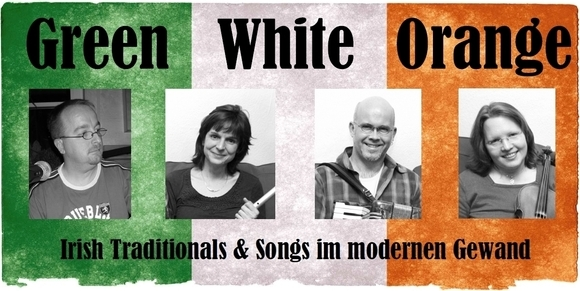 Green White Orange - Folk Songwriter Irish Folk Live Act in Overath