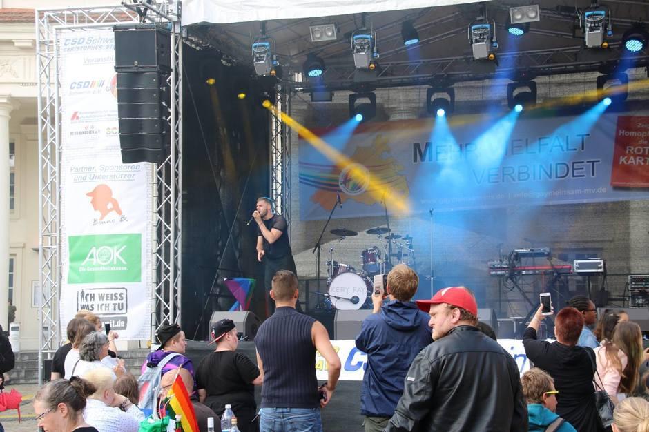 CSD Schwerin 2018 - Straßenfest