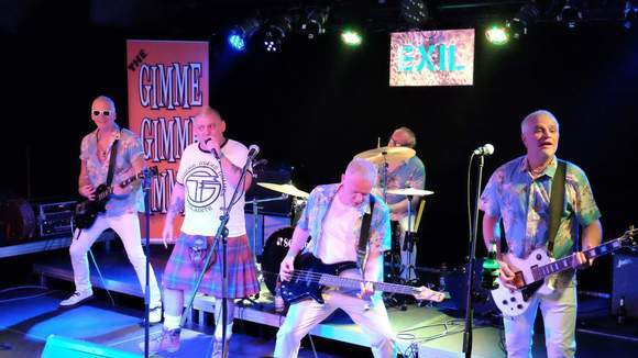 The Gimme Gimme Gimmes - Melodic Punk Rock Punk Cover Melodic Alternative Punk Live Act in Livingston