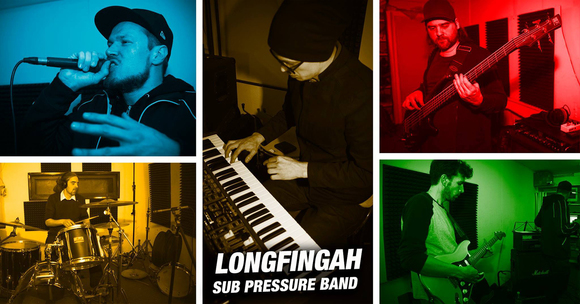 Longfingah & Sub Pressure Band - Reggae Dub Dancehall Worldbeat Worldmusic Live Act in Berlin