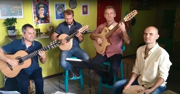 Quarteto Sambaqui - Worldmusic Latin Jazz Afro-Latin Latin Acoustic Brazilian Jazz Live Act in joinville