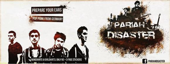 Pariah Disaster - Punk Pop Live Act in Gevelsberg