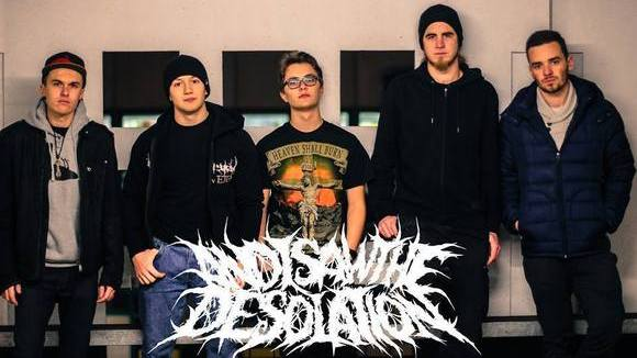 And I Saw The Desolation - Heavy Metal Metalcore Death Metal Live Act in Quierschied
