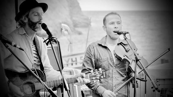 Kris Lannen & Richard Trethewey - Singer/Songwriter Folk Singer/Songwriter Acoustic Celtic Folk Live Act in Wadebridge