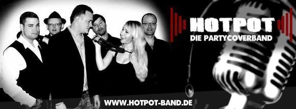 HotPot die Partycoverband - Pop Charts Rock Live Act in Berlin