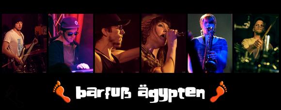 Barfuß Ägypten - Reggae Dancehall Pop Live Act in Hamburg