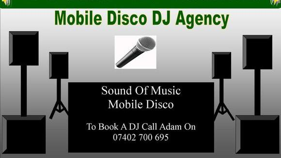 Sound Of Music Mobile Disco DJ Hire Agency - Disco Pop House DJ DJ in London UK